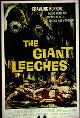 The Giant Leeches Monster Movie Poster